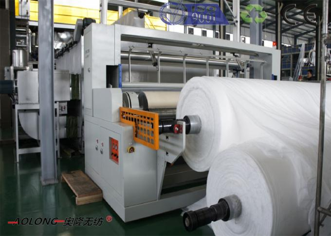 Full Automatic SSS Non Woven Fabric Spunbond Machine From 1.6m To 3.2m