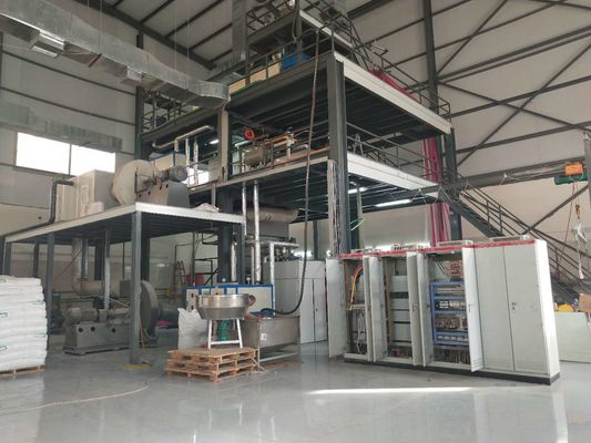 AL -3200mm Single S Non Woven Bags Manufacturing Machine Long Life Use Time
