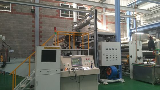 China SMS AL - 1600mm Non Woven Making Machine For Hygienic Material , Medical Treatment supplier