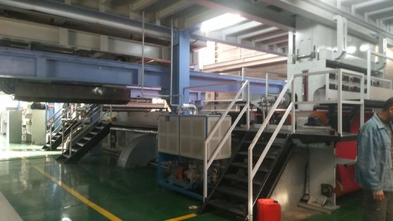 2400mm Width Spunbond Nonwoven Machine , Non Woven Fabric Production Line