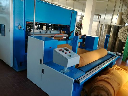 Low Noise Automatic Nonwoven Car Carpet Making Machine , 130kw - 280kw Power
