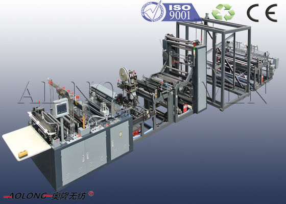 CE / ISO9001 PP Non Woven Bag Making Machine For Handle Bag / Shoes Bag