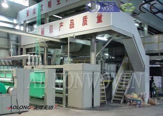 Professional SMS Spunbond PP Non Woven Fabric Machine For Operation Suit 0~350m/min