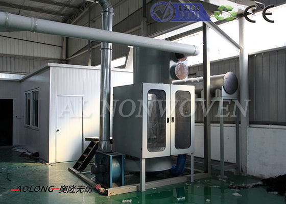 Thermal Bonded Glue Free Waddings Making Machine For Quilts 2300mm / 2500mm