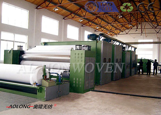 40% Glue Spray - Bonded Wadding Production Line With Computer Control