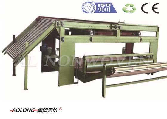 Automatic Non woven Fiber Cross Lapper Machine 6800mm For Geotextiles