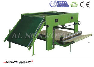 Non Woven Fiber Cross Lapper Machine Spreading 4000mm 380V 50Hz