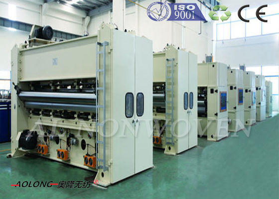 High Speed Nonwoven Pcuhing Needle Loom Machine 300~1000g/m^2 CE / ISO9001
