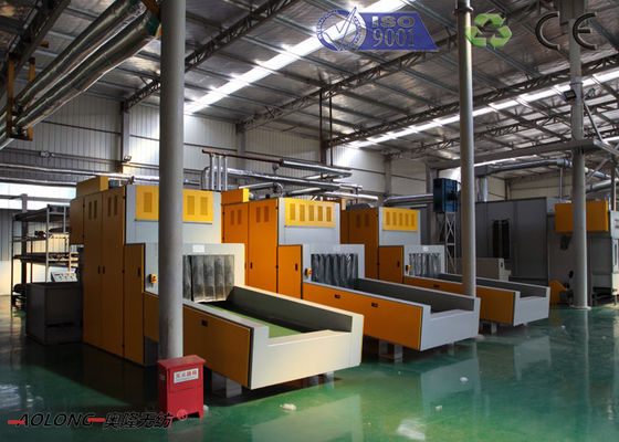 China 3.2m Polyamide Substrate Synthetic Leather Machine With Capacity 2500kg/Day distributor