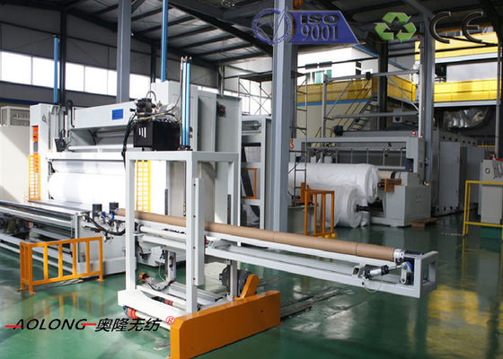 China 1.6m-3.2m SSS Spunbond PP Non Woven Fabric Machine with CE /  ISO distributor