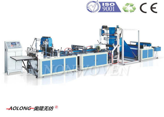China Automatic 5 in 1 Non Woven Bag Making Machine For T-Shirt Bags , Width 100~800mm distributor