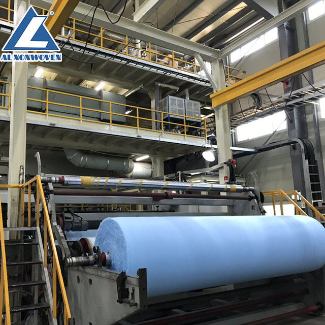 CE / ISO9001 Non Woven Fabric Making Machine For Geotextiles And Agriculture